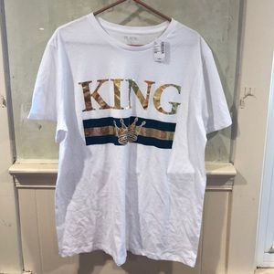 NWT King t shirt